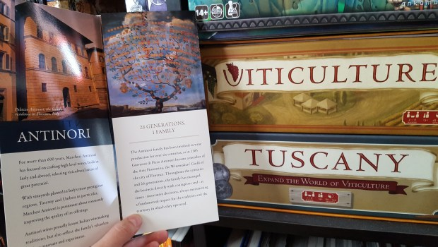 viticulture and tuscany