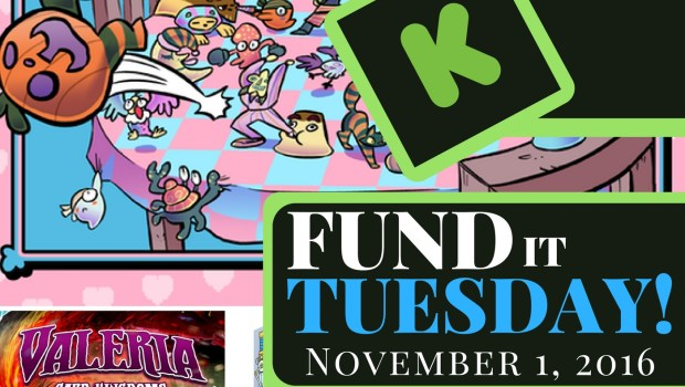 Fund It Tuesday return creators