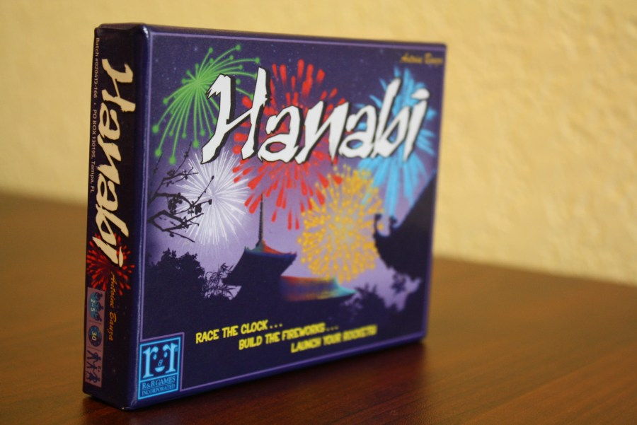 Hanabi Card Board Game