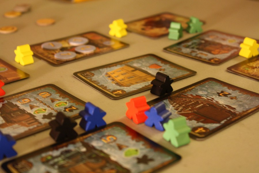 Spyrium Board Game