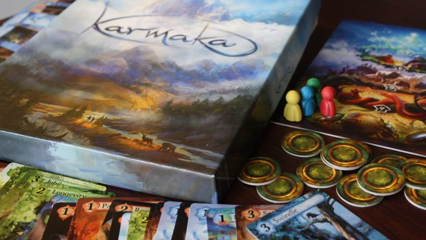 karmaka board game card game