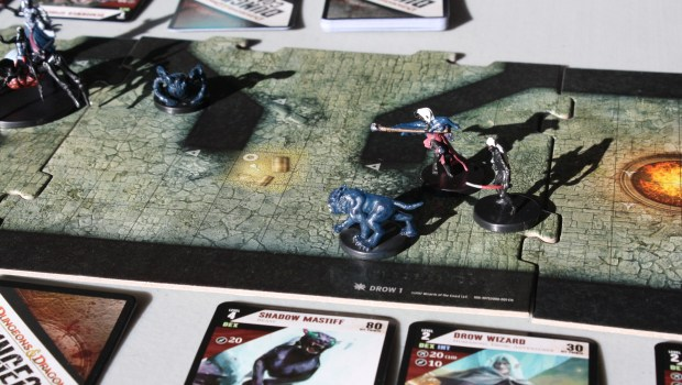 Dungeon Command Lolth Board Minis