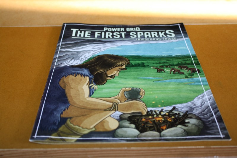 Power Grid: The First Sparks box