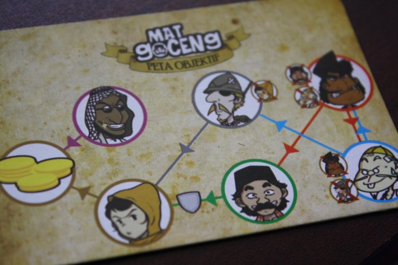 Mat Goceng Card Game