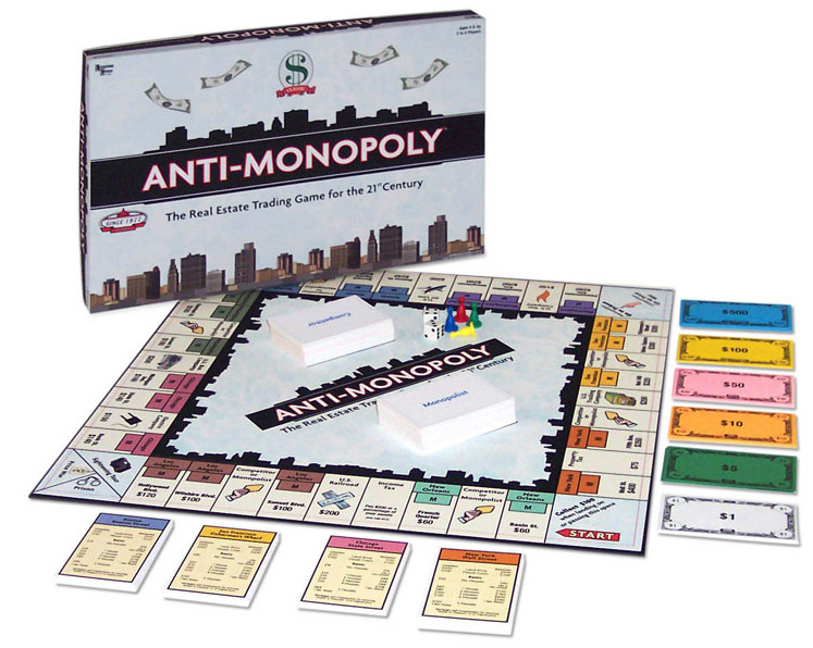 Anti-Monopoly: A Monopoly success story (sort of)