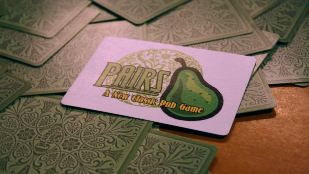 pairs kickstarter card pub game