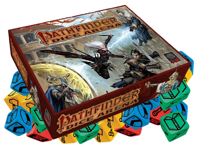 Pathfinder Dice Arena Board Game Kickstarter
