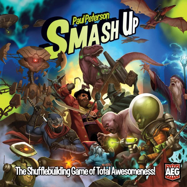 smash up cover board game
