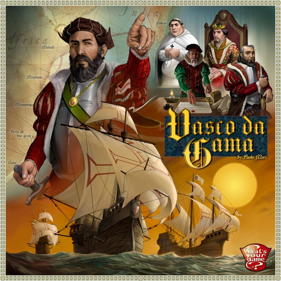 vasco da gama board game cover