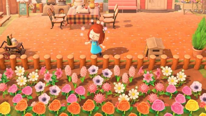 Animal Crossing flowers