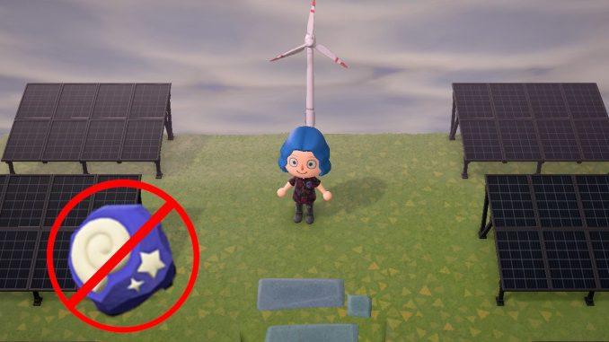 Green energy in Animal Crossing
