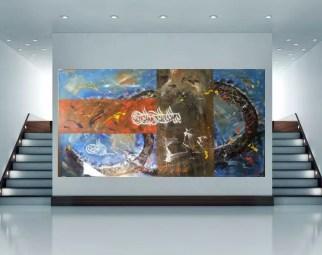 Abstrakte orientalische Kunst