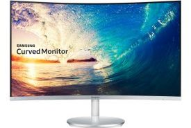 Samsung CF 591 Curved Monitor