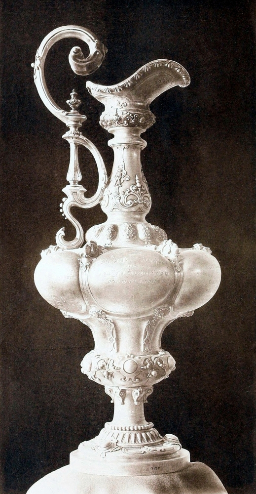 "The ""Auld Mug"" or ""£100 Cup"" was renamed ""America's Cup"" in 1851."
