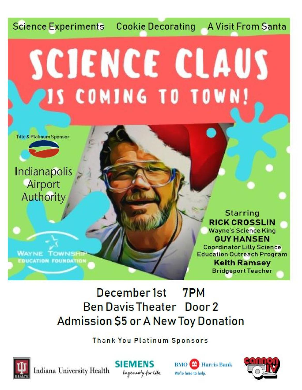 Science Claus Flyer