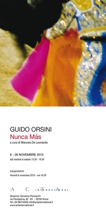 Nunca Mas - Fotografie di Guido Orsini