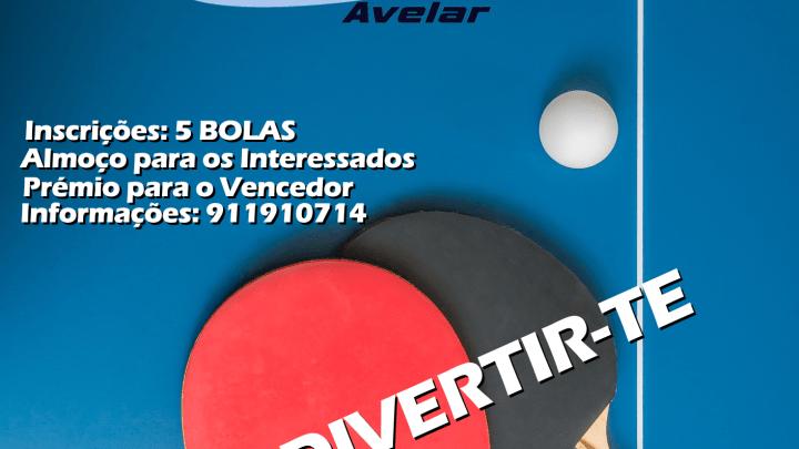 1º Torneio de Ping Pong ACTAV – 24 e 25 de Novembro 2018