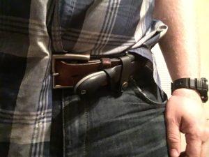 clinch pick self defense knife unconcealed