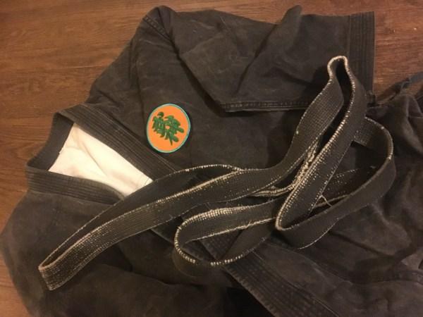 martial arts rank credentials