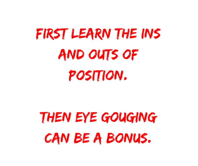 eye gouging groundfighting