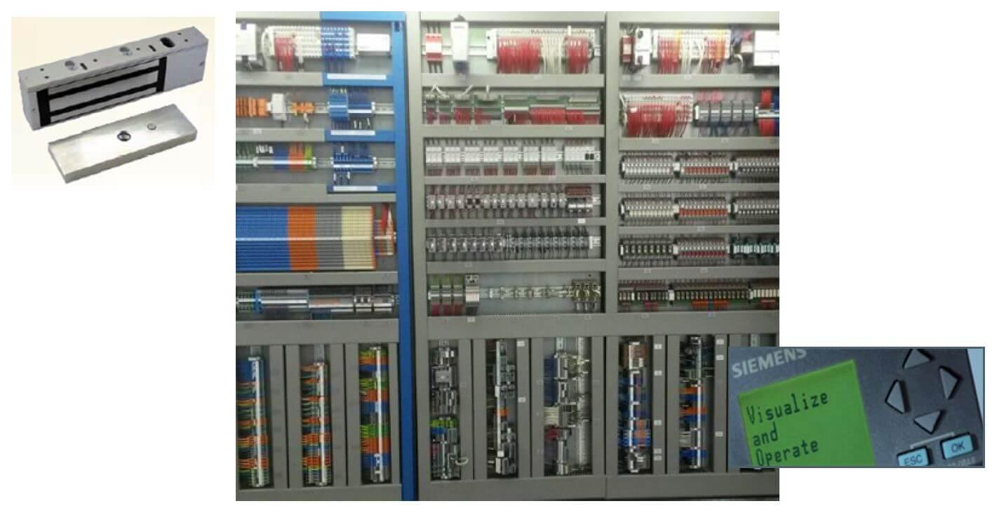 ACIL50 PLC Interlock Controls Diagram