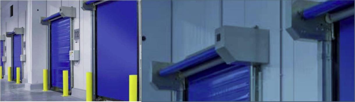 ACRD30 High Speed Freezer Door