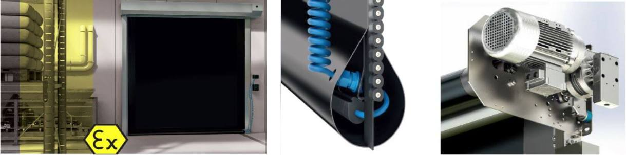 ACRD50 High Speed Internal ATEX Door