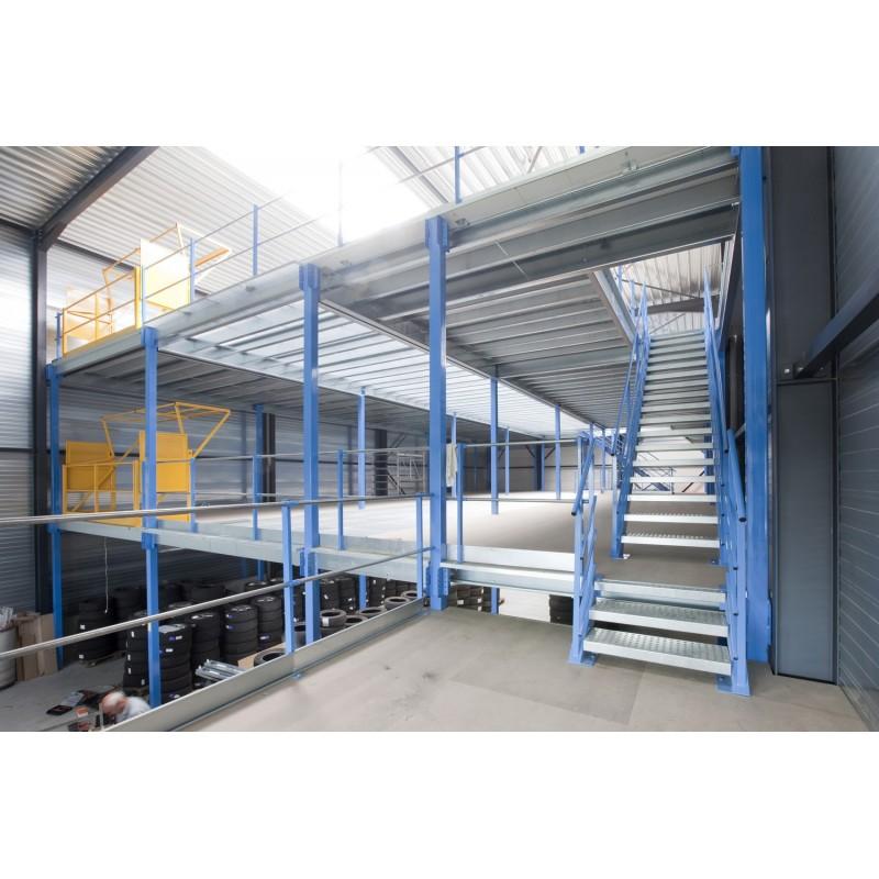 Plateforme De Stockage Plate Forme Industrielle Mezzanine