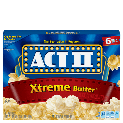 extreme butter popcorn act ii