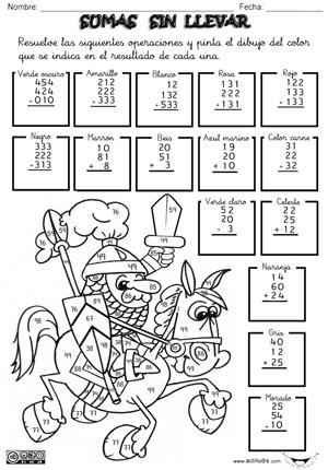 010501 Sumas sin llevar 3 dígitos y 3 Sumandos p