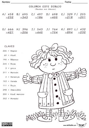 03 Restas 3 dígitos sin llevar 004 Vertical p