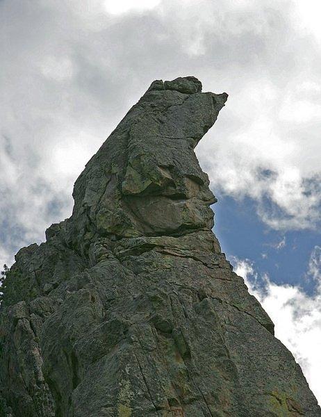 Formas y figuras en las montañas - Actiludis