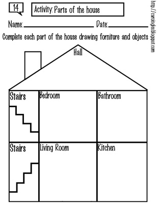 14. Parts of the house-p