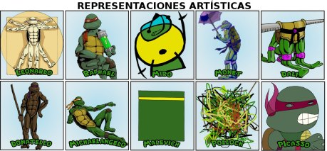 representaciones artisticas