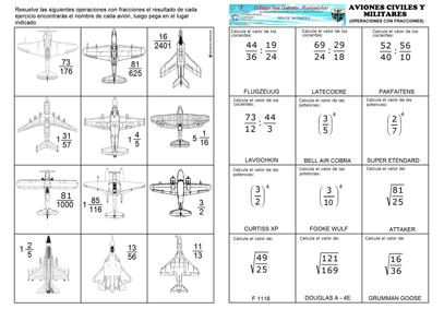 Aviones varios