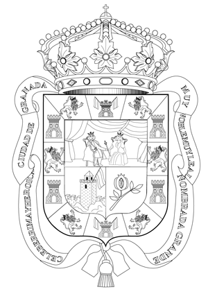 Escudos de las 8 provincias andaluzas para murales - Actiludis