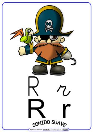 Resultado de imagen de letra r
