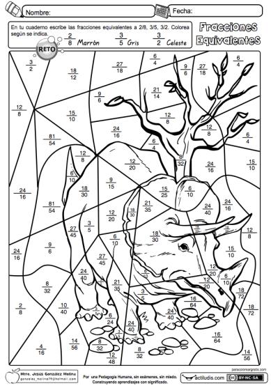 Fracciones equivalentes 02