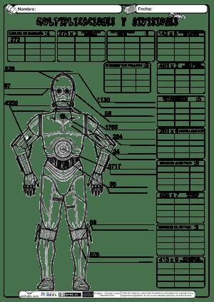 Producto y División por una cifra 07