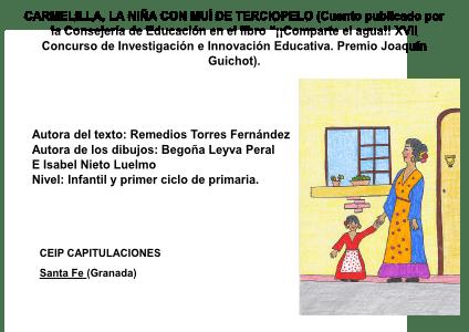 CARMELILLA, LA NIÑA CON MUÍ DE TERCIOPELO