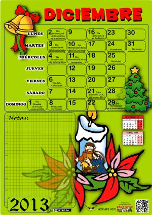 Diciembre 2013 color y datos