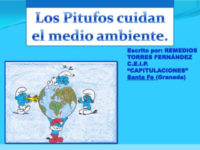 LOS PITUFOS CUIDAN EL AMBIENTE-1