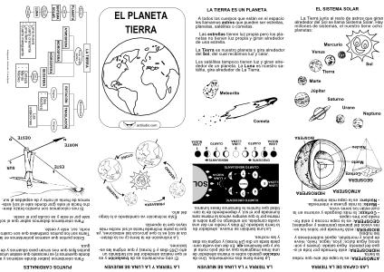 Mini-libro-La Tierra