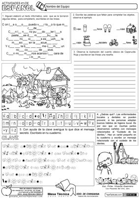 Actividades de Español 1