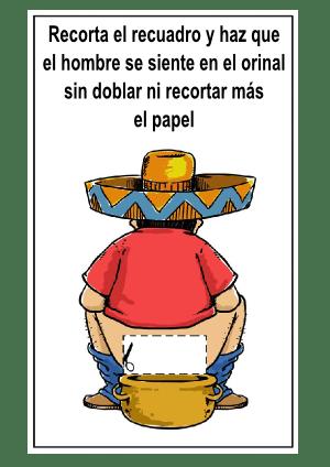 mexicano en orinal