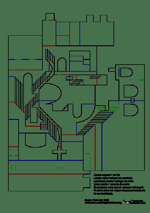Recportable escaleras Escher