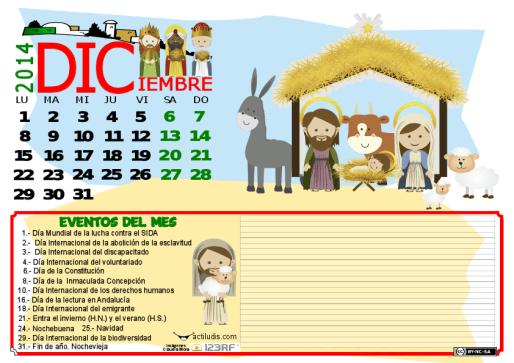 DICIEMBRE 2014 DATOS Y COLOR