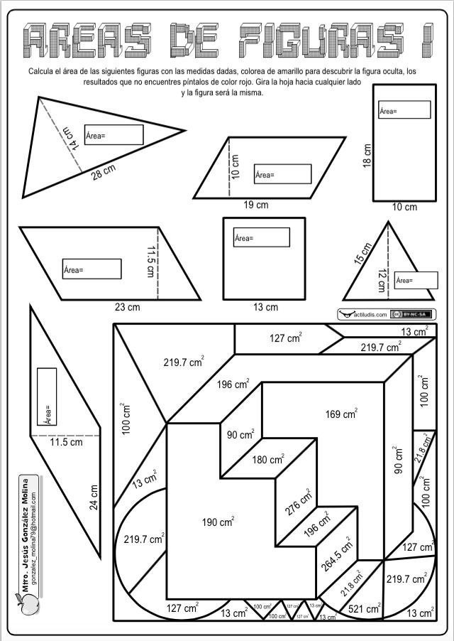 Área de figuras - Actiludis