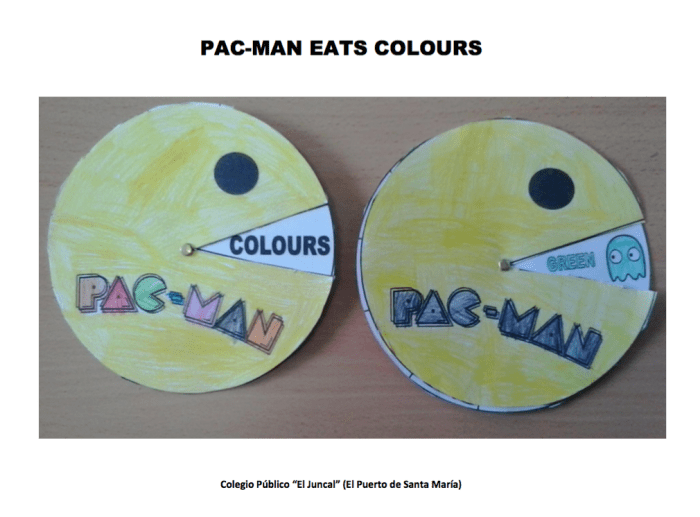 PAC MAN COLOURS