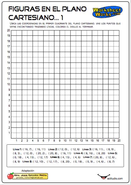 Figuras en el plano cartesiano actiludis for Pagina para crear planos
